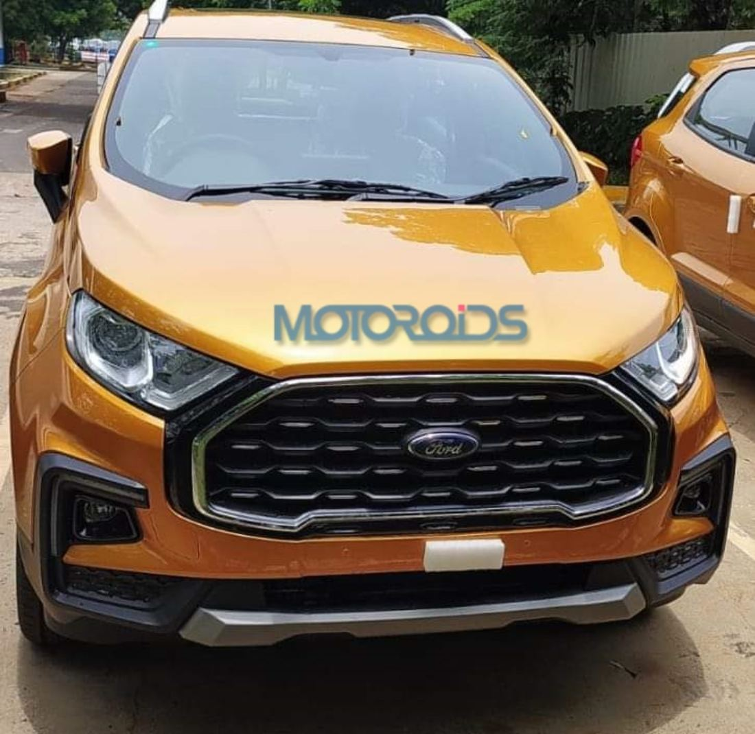 Ford Ecosport Facelift spied (1)