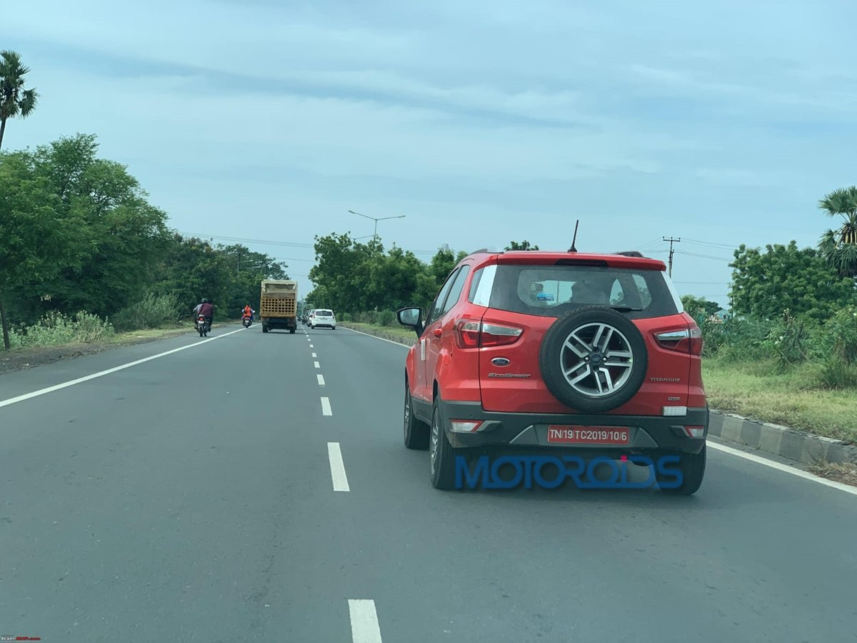 Ford Ecosport Facelift spied (2)