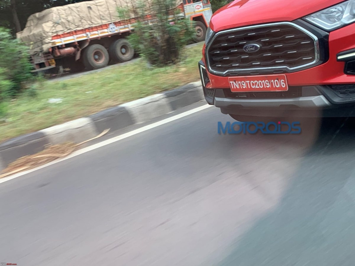Ford Ecosport Facelift spied (3)