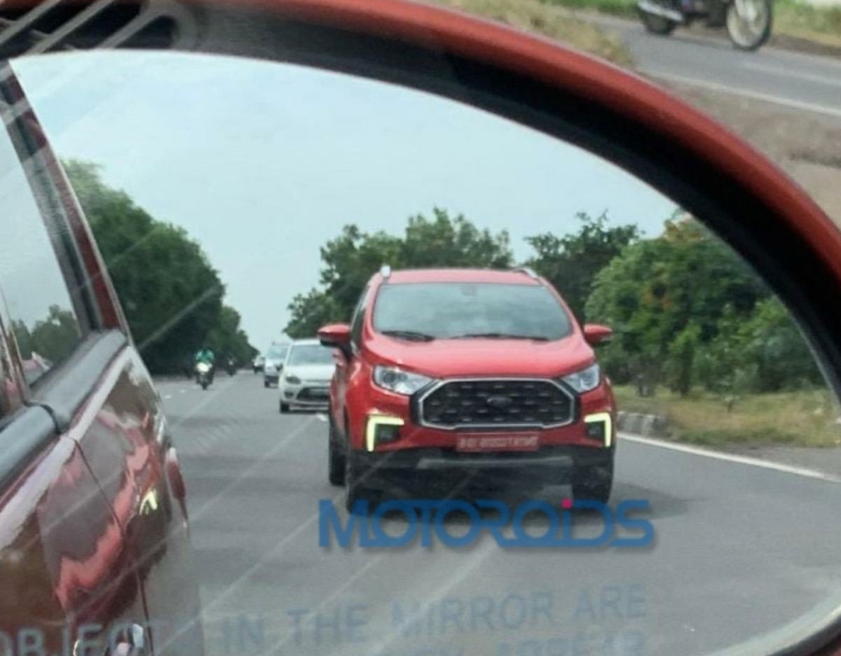 Ford Ecosport Facelift spied (4)