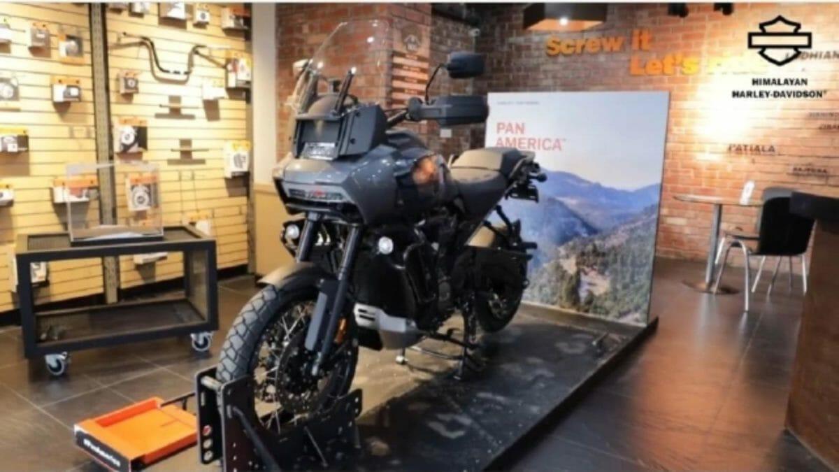 Harley Davidson Pan america India