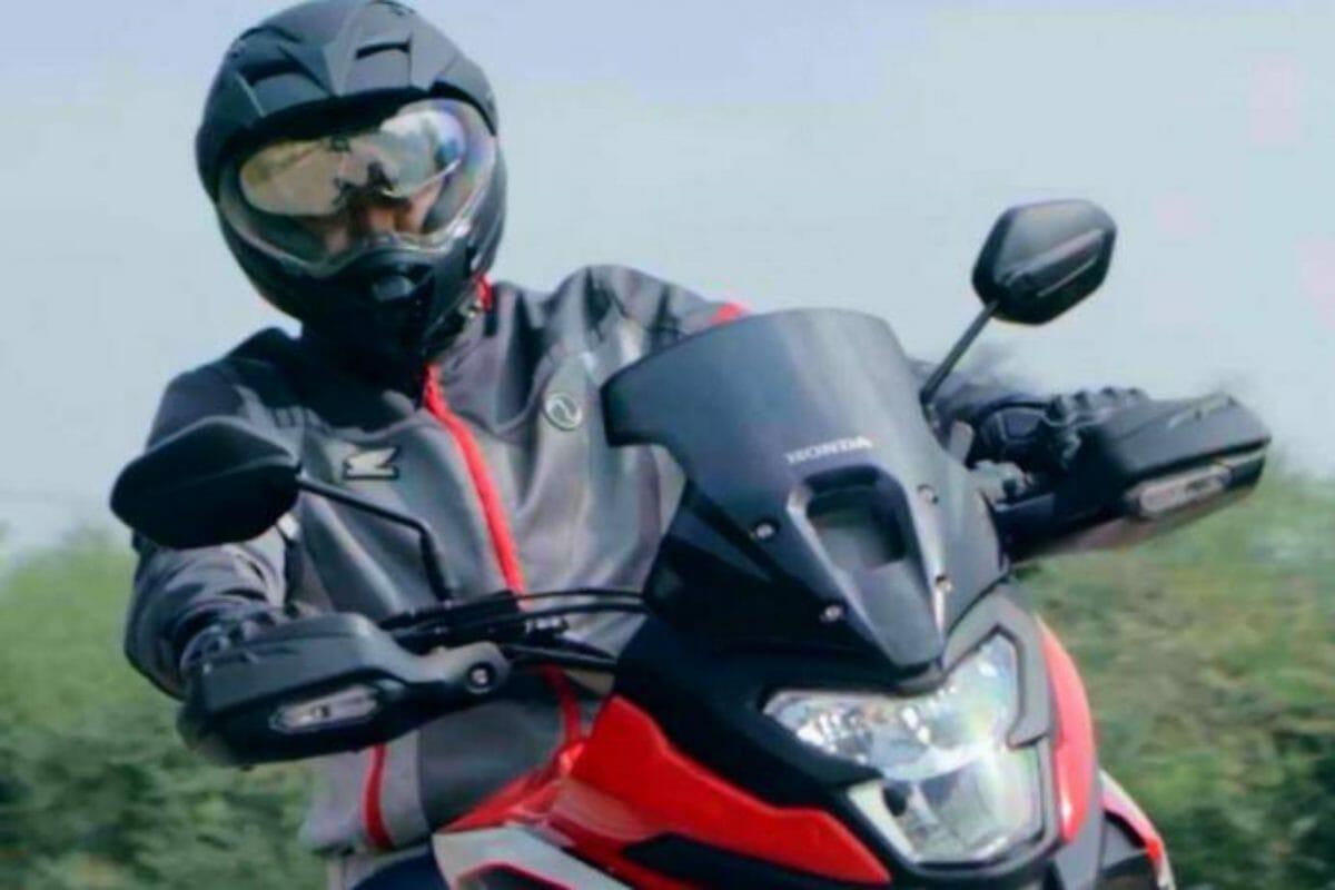 Honda NX200 teased