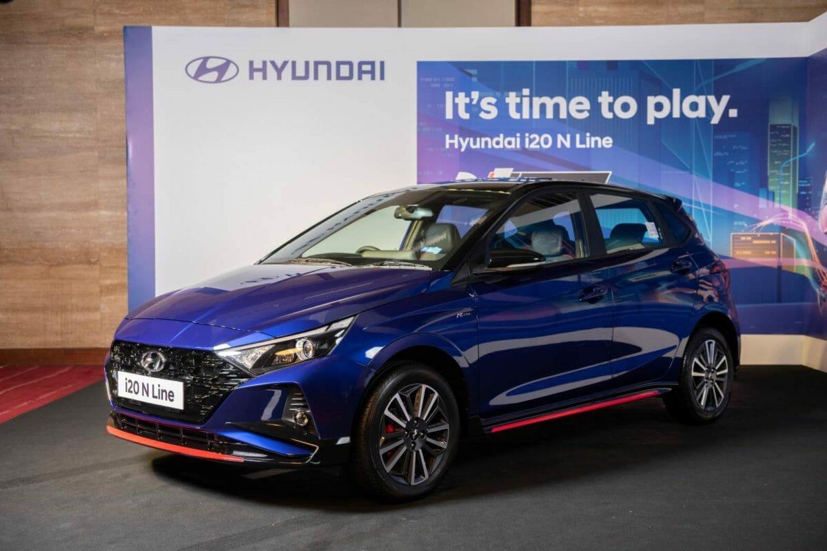 Hyundai i20 N Line revealed
