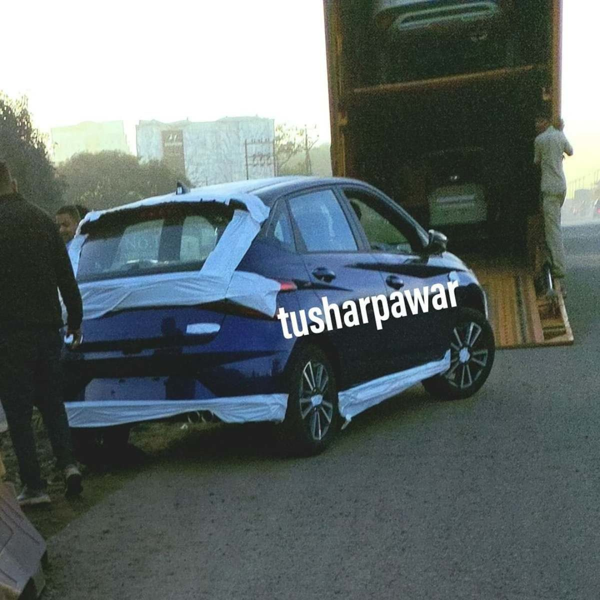 Hyundai i20 n line Spied (1)