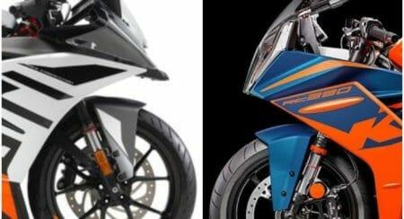 KTM RC 390 collage