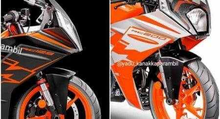 KTM RC collage