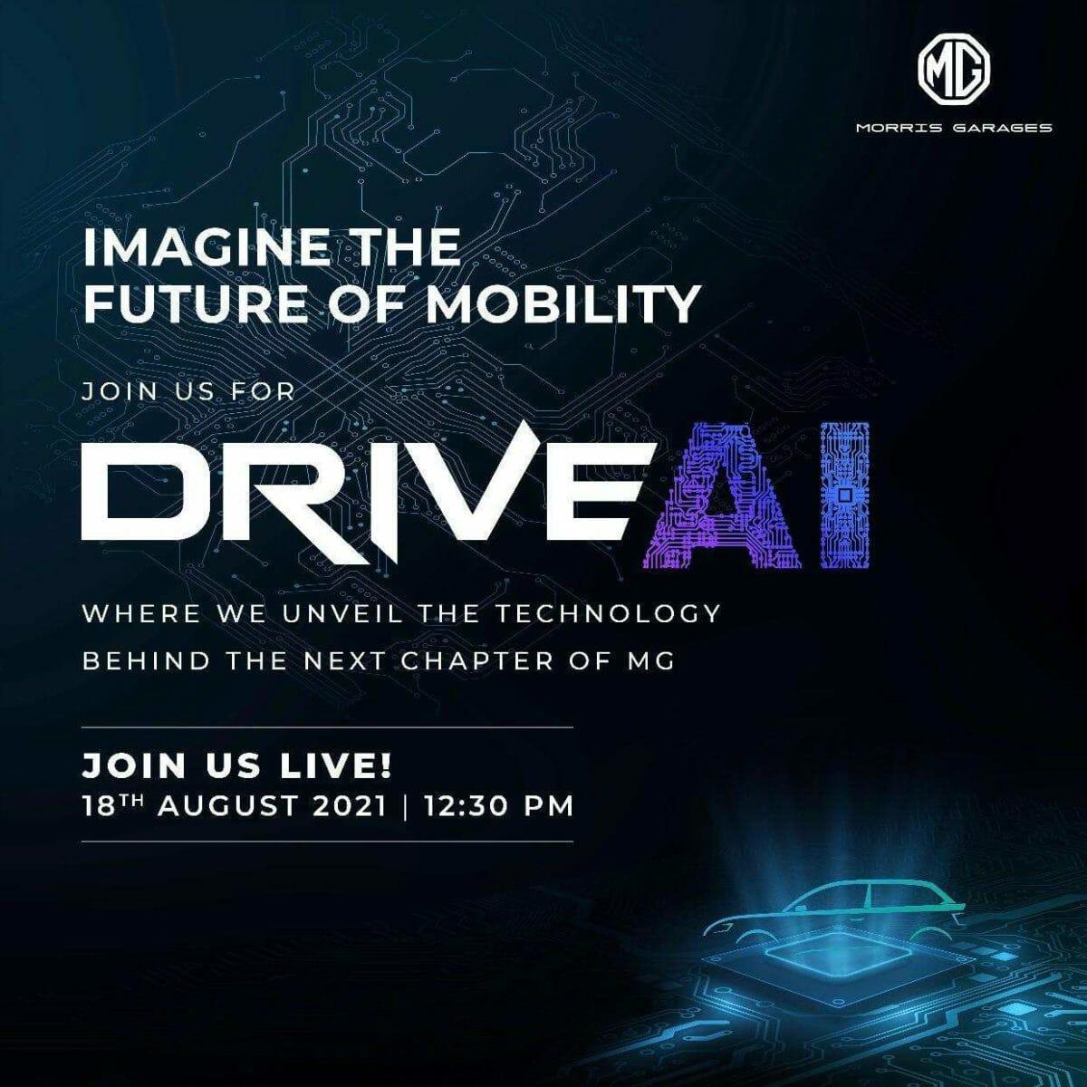 MG AI invite