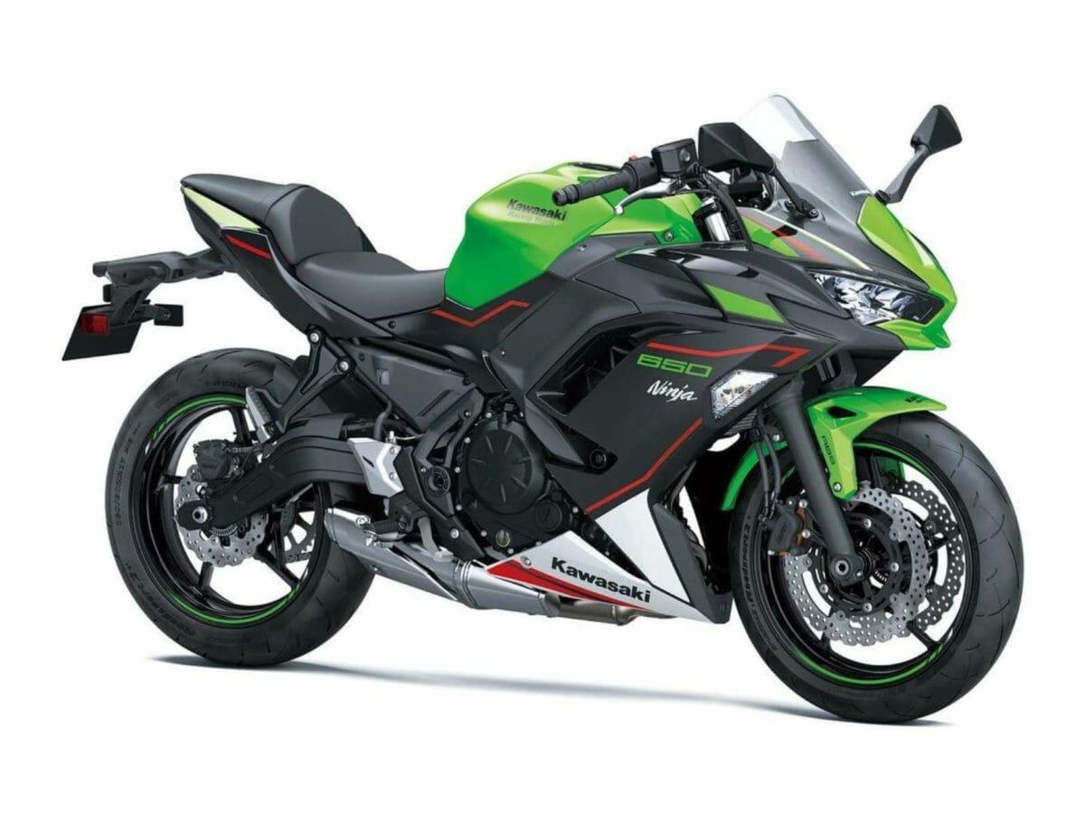 MY2022 Kawasaki Ninja 650