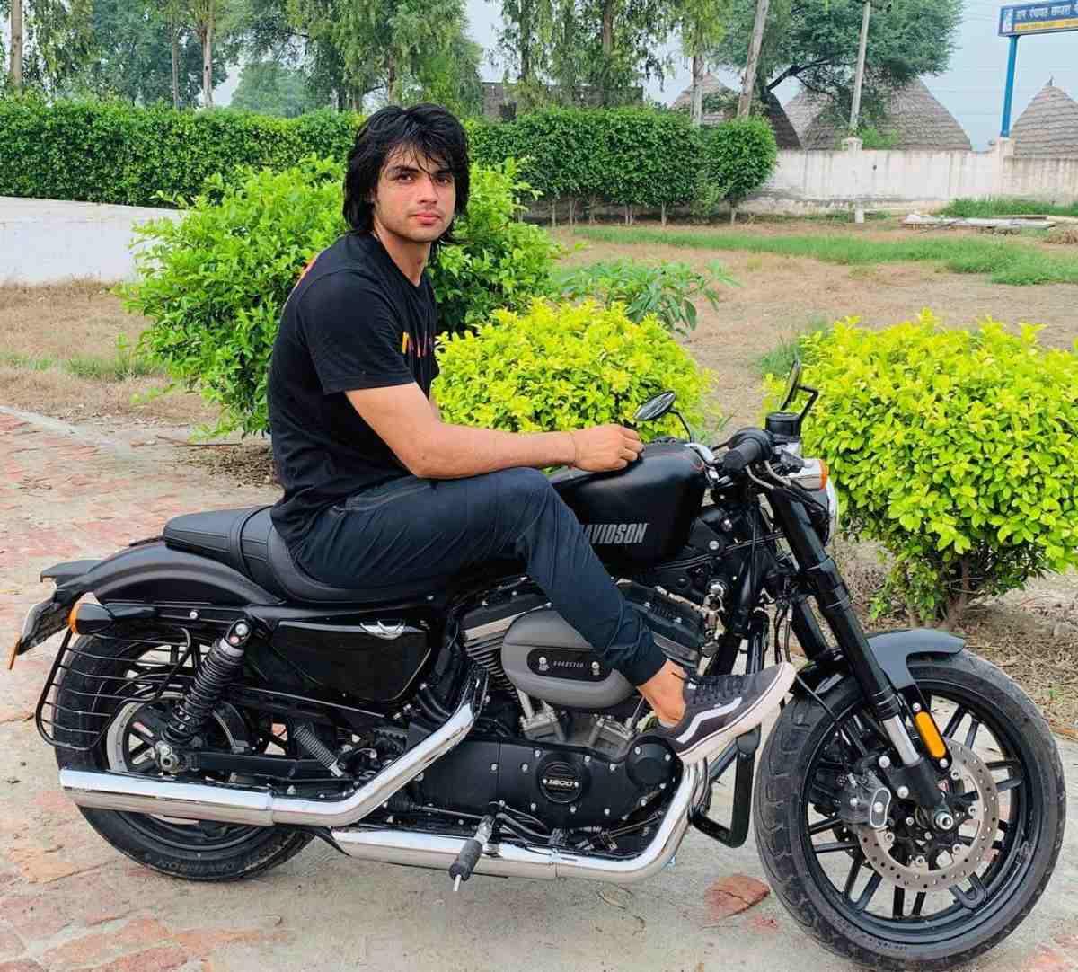 Neeraj Chopra Harley