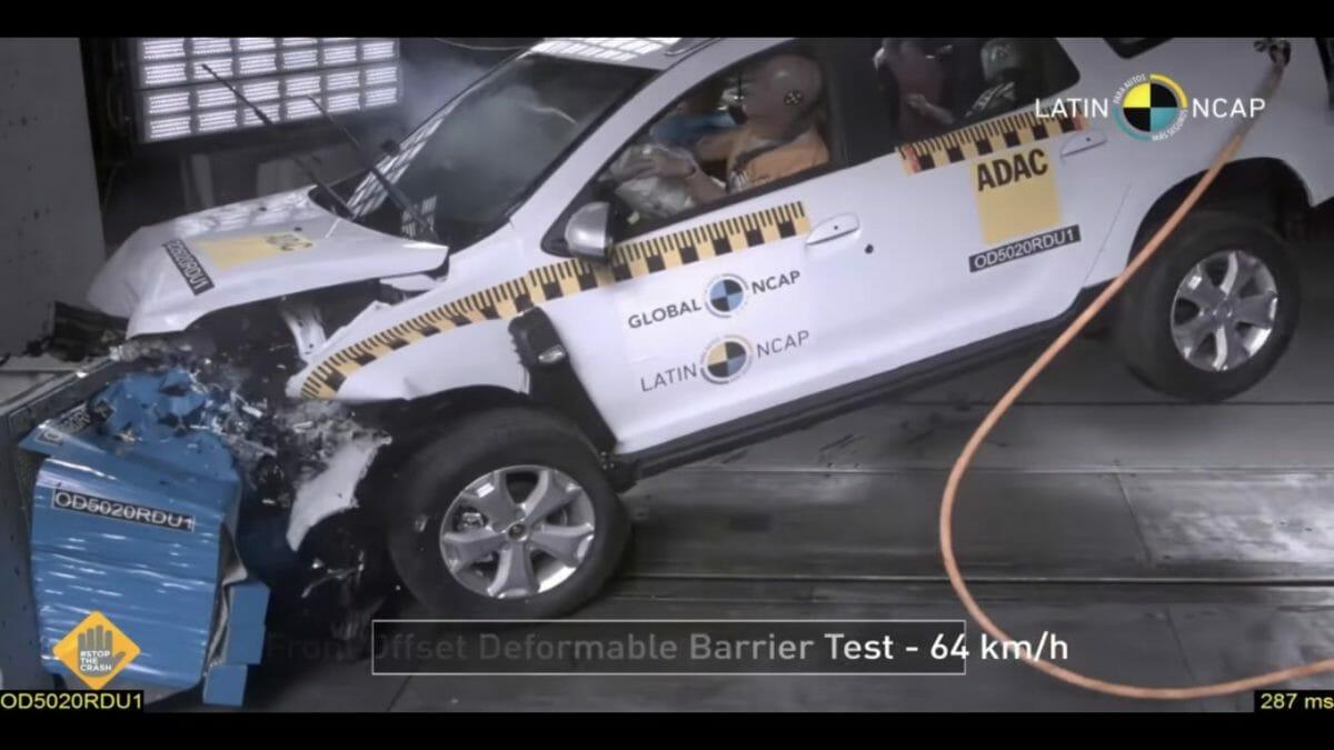 Renault Duster Latin NCAP 2