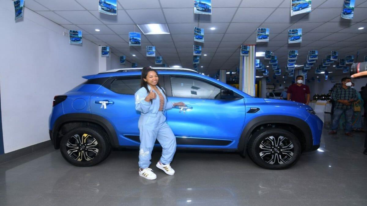 Renault Kiger to Mirabai Chanu (1)