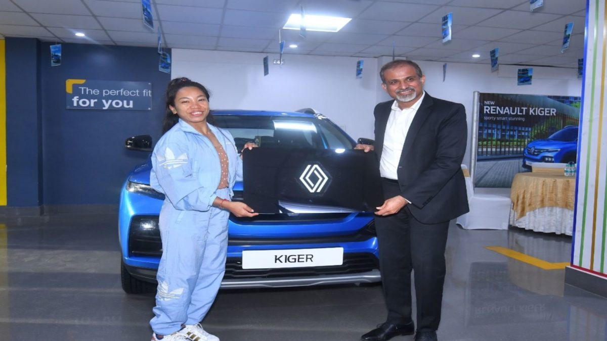 Renault Kiger to Mirabai Chanu