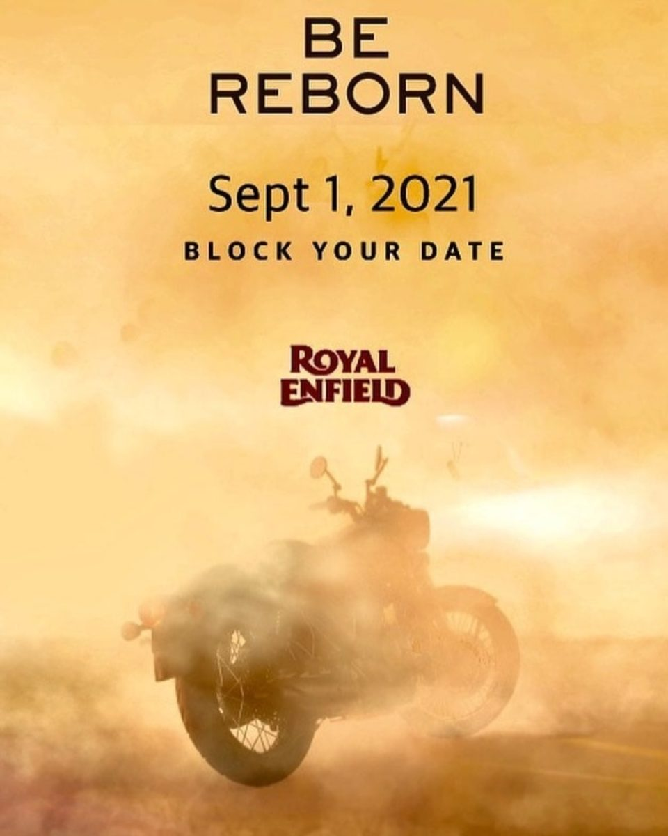 Royal Enfield Classic 350 Teaser