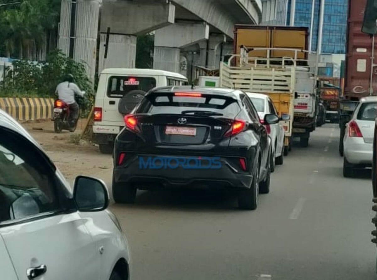 Toyota C HR Spied (1)