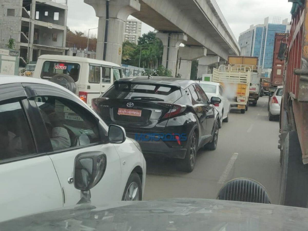 Toyota C HR Spied