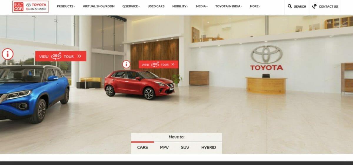 Toyota Virtual Showroo