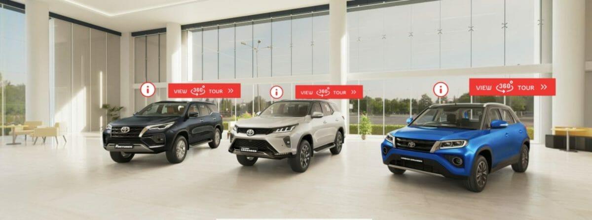 Toyota Virtual Showroom 4