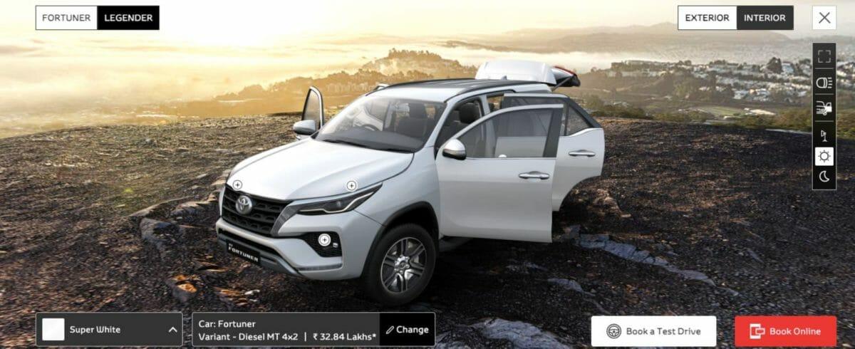 Toyota Virtual Showroom 5