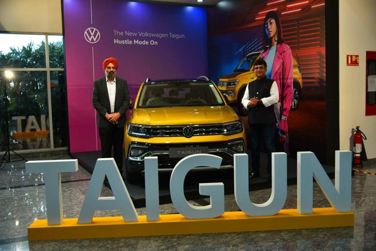 VW Taigun Production Start min