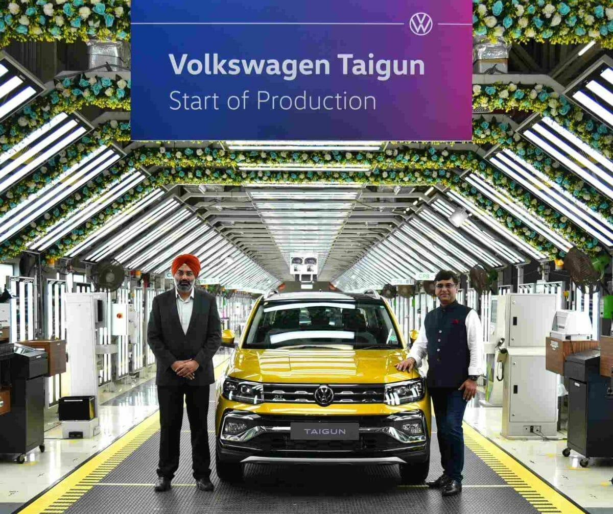 VW Taigun Production min
