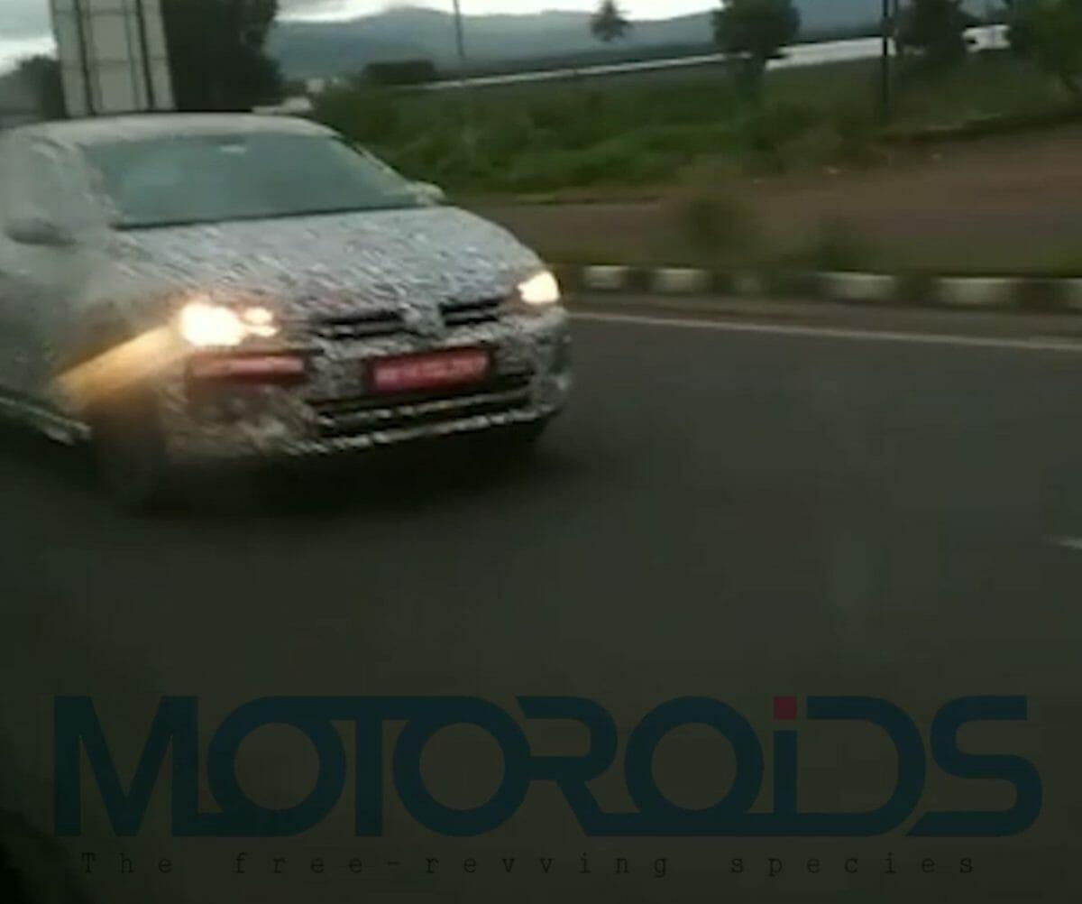 Volkswagen Virtus spied again (2)