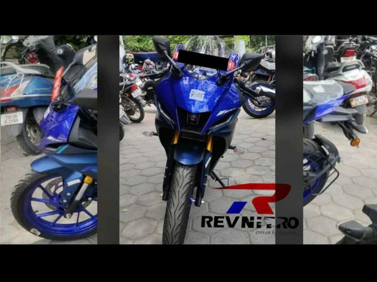 Yamaha R15M Spied (1)