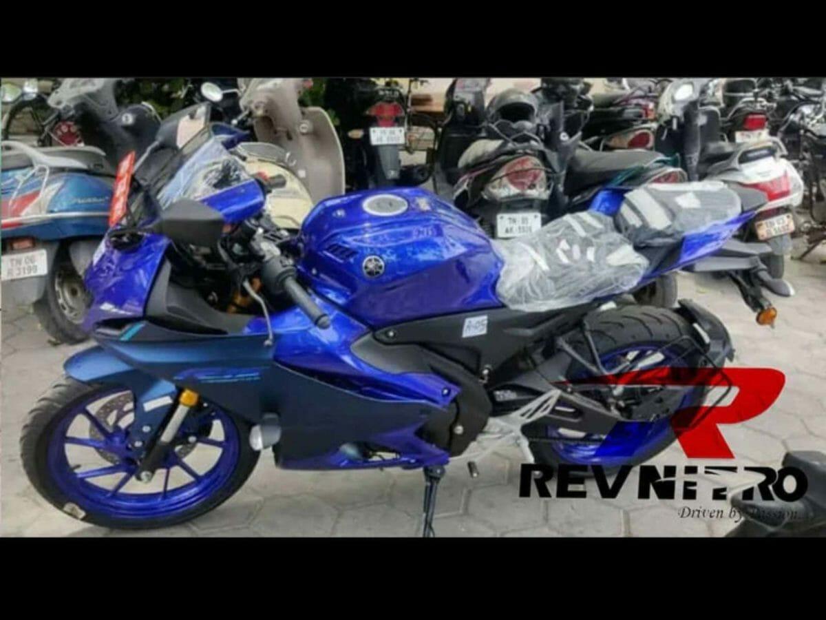 Yamaha R15M Spied