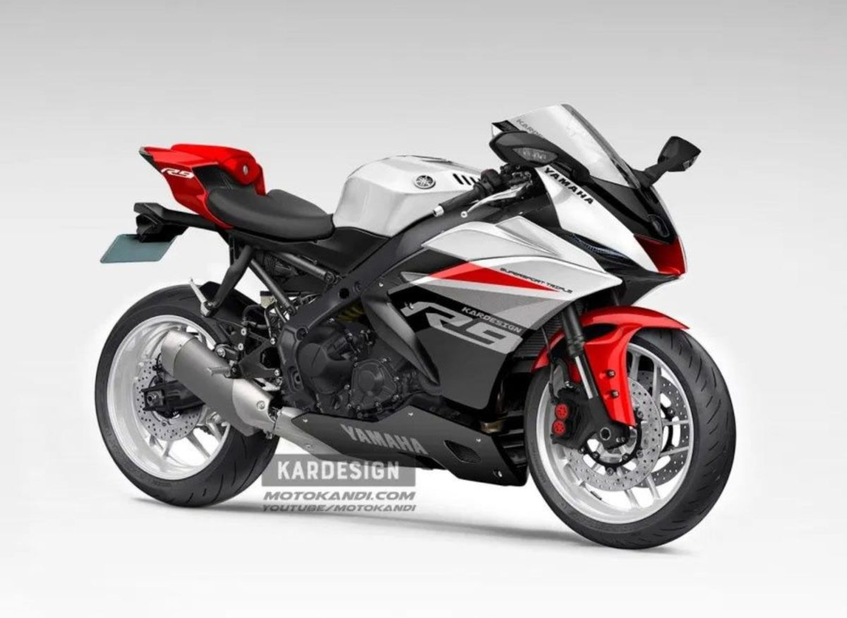Yamaha R9 render