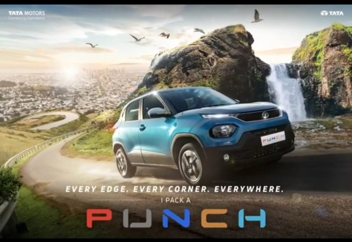 tata punch revealed front 3_4