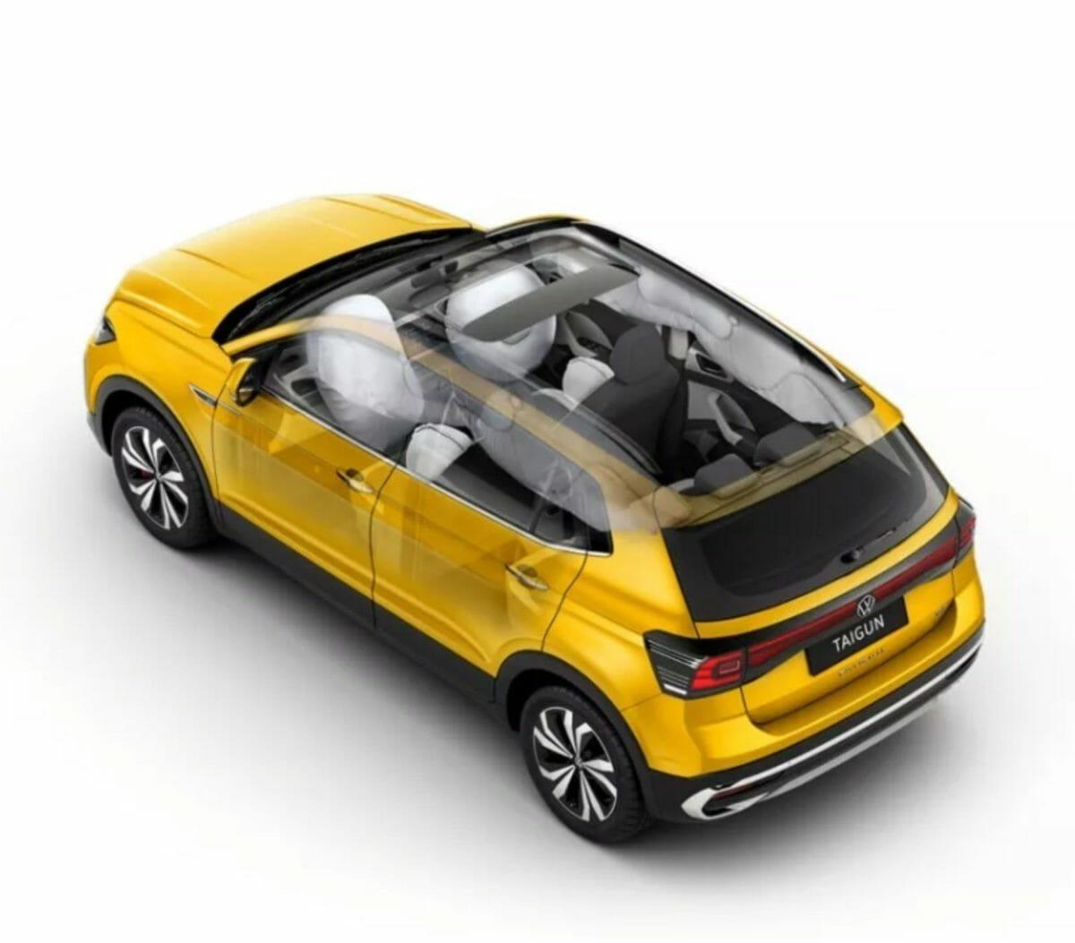vw taigun airbags