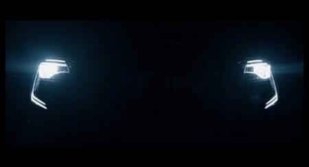 xuv700 headlights teaser