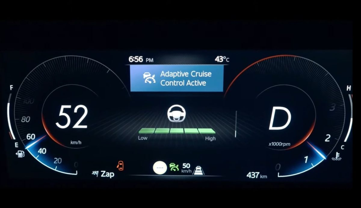 xuv700 reveal cruise control