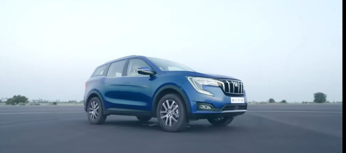 xuv700 reveal front
