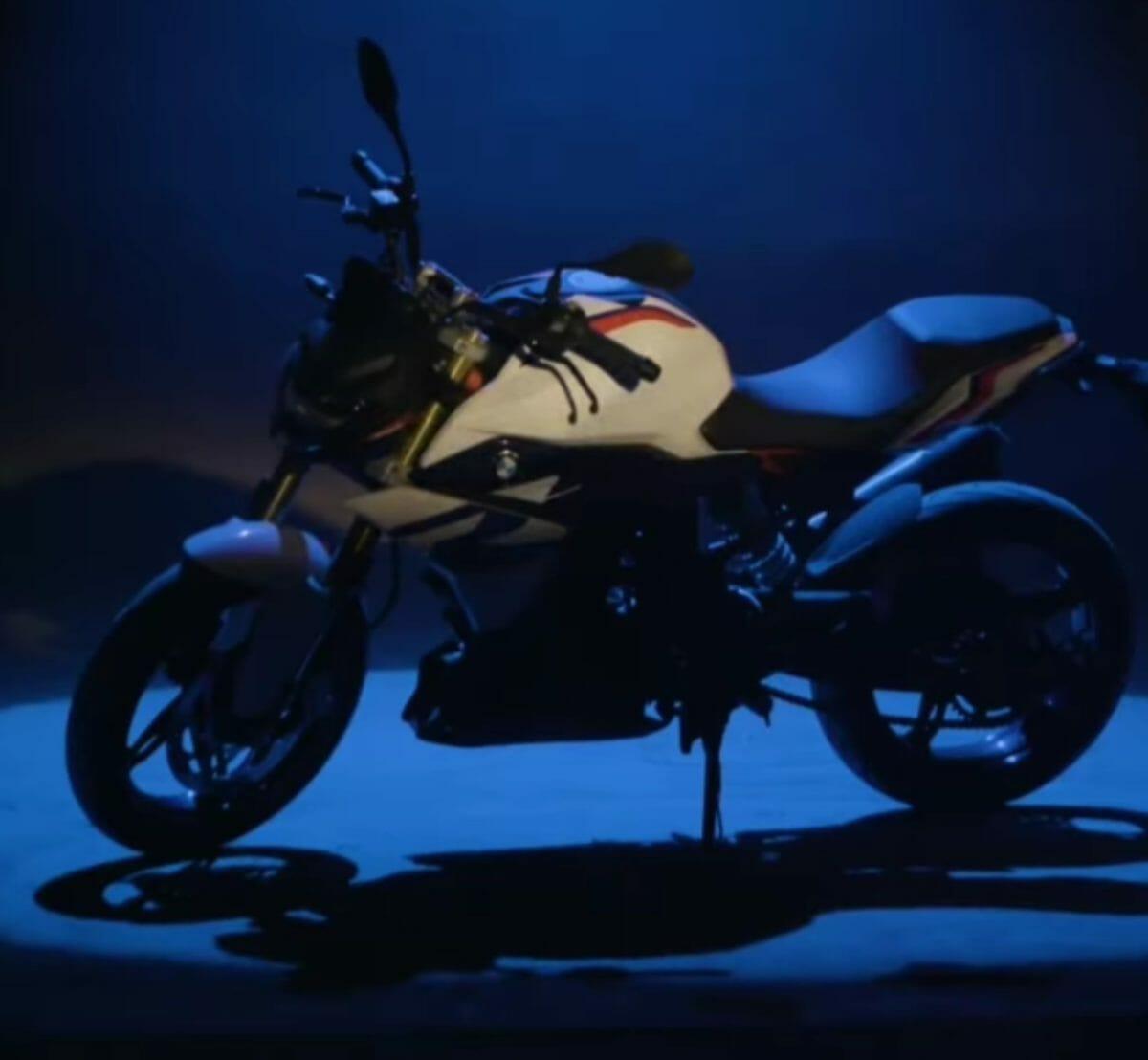 2021 BMW G310 R teased