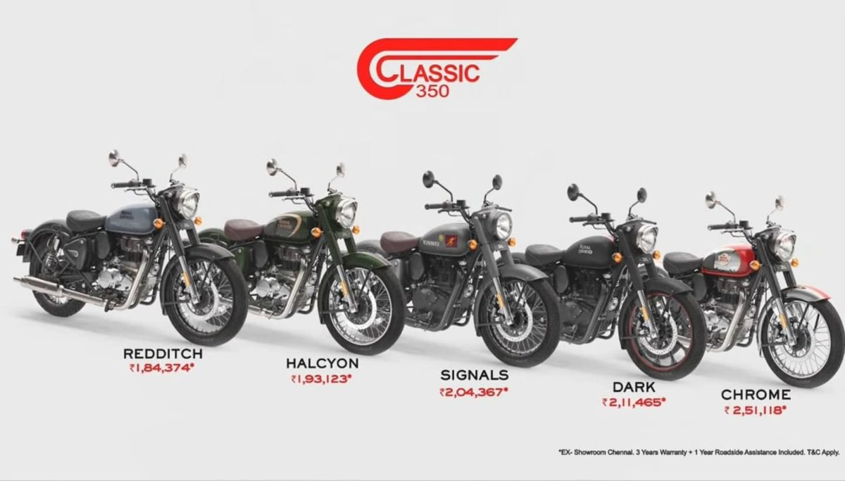 2021 Royal Enfield Classic 350 Launched