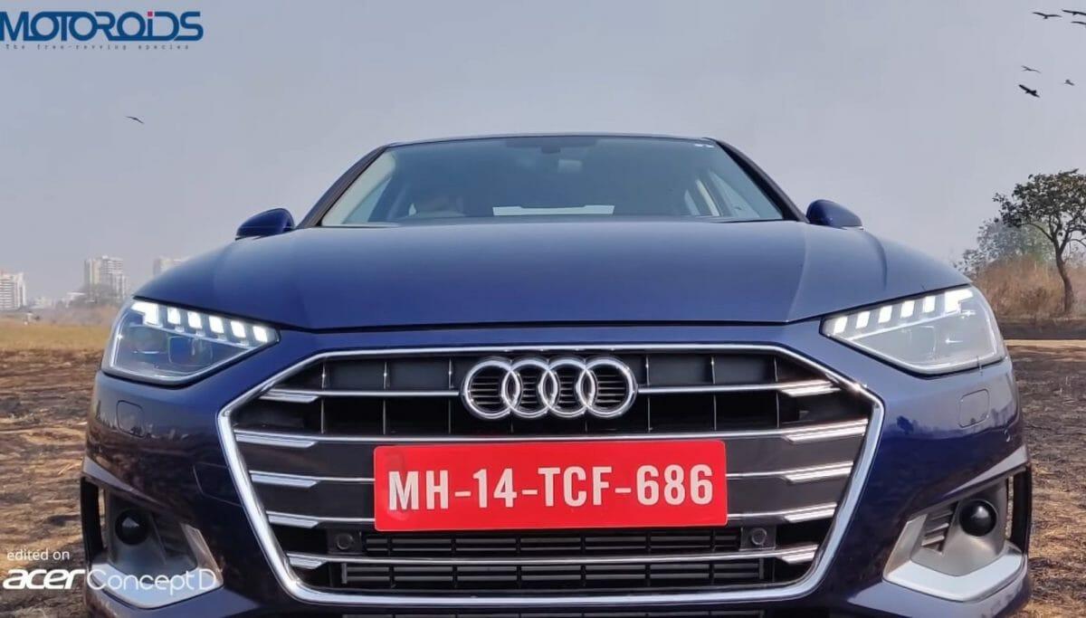 Audi A4 facelift review front