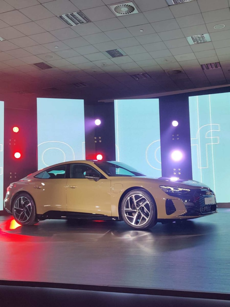 Audi E tron GT launched in india