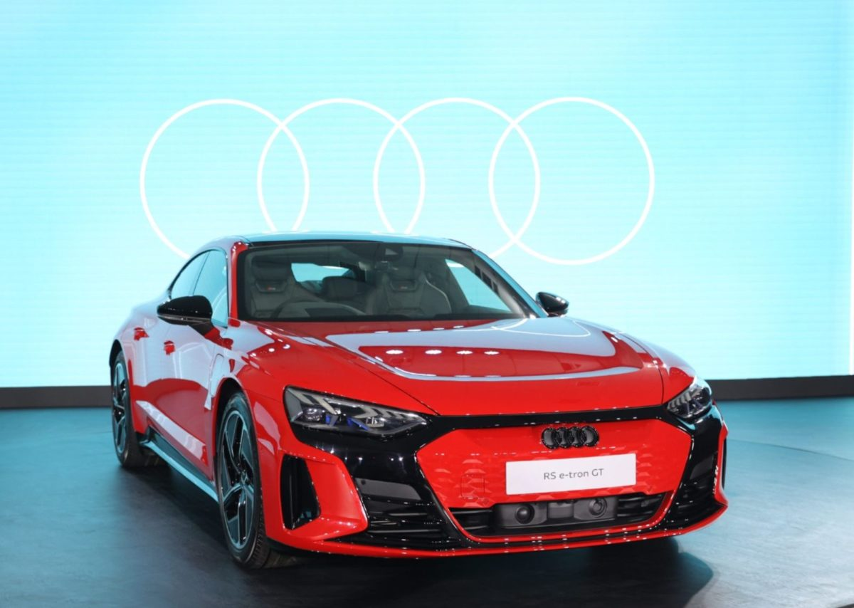 Audi RS E Tron Gt launched in india