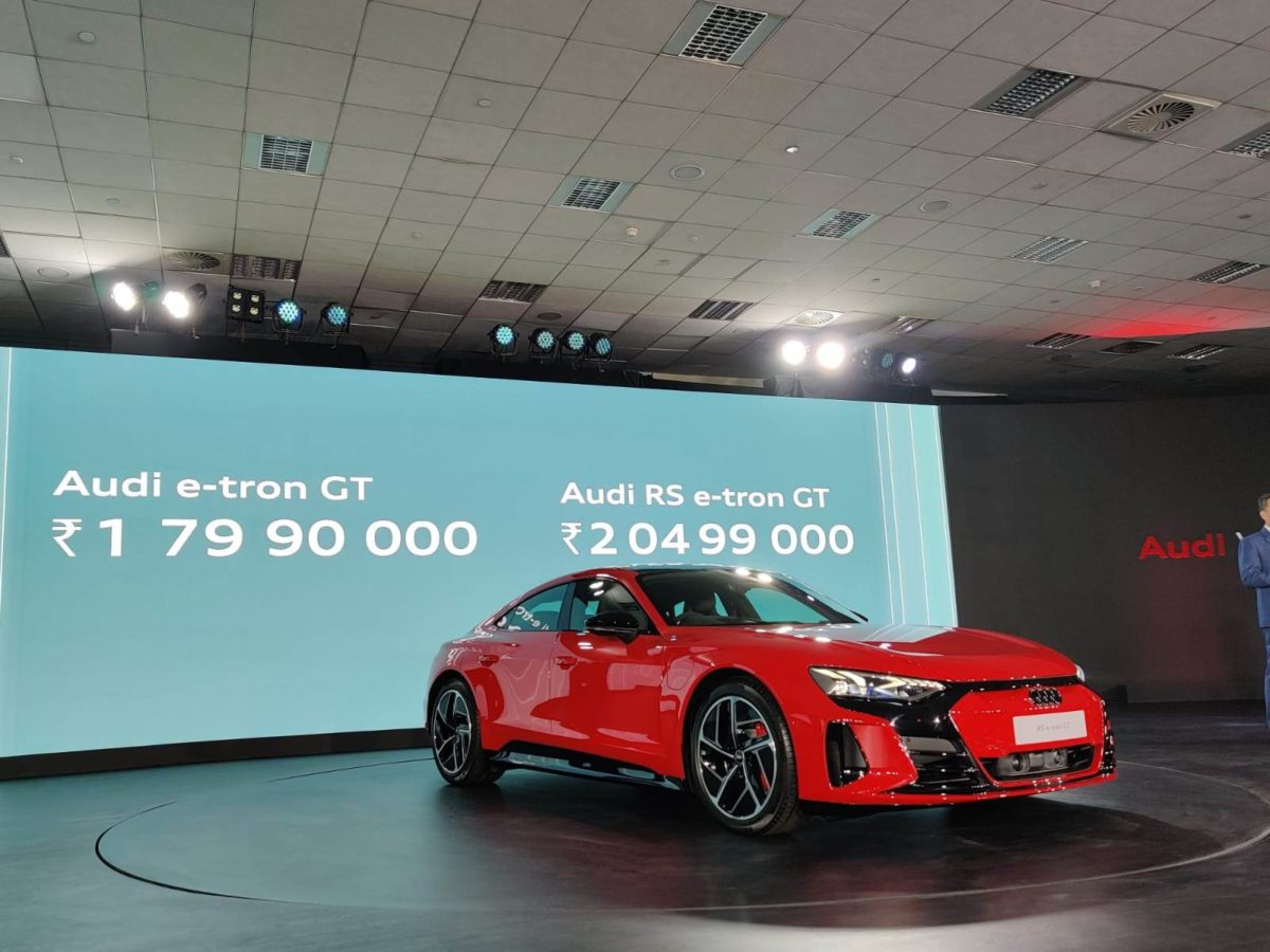 Audi RS E tron launched in india prices