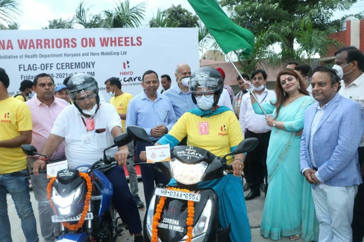 Hero Corona Warriors on Wheels 2