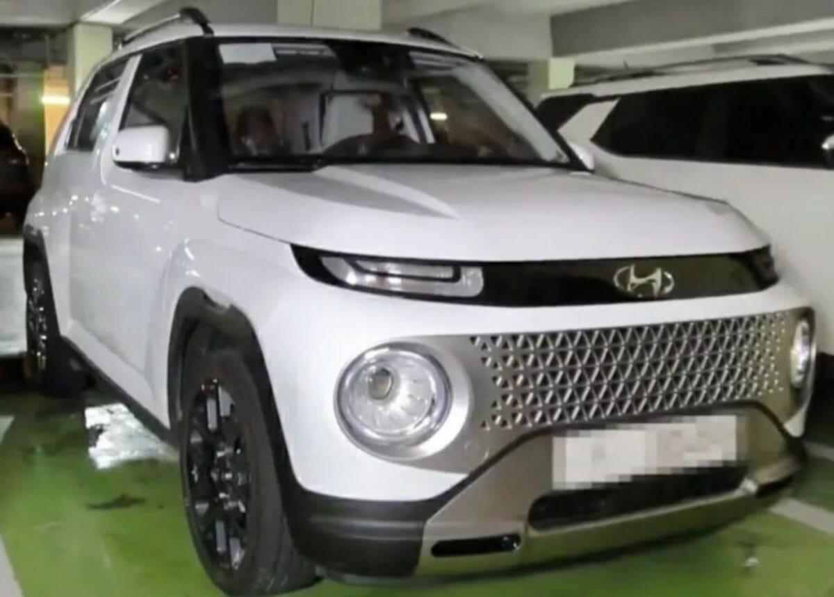 Hyundai Casper Front