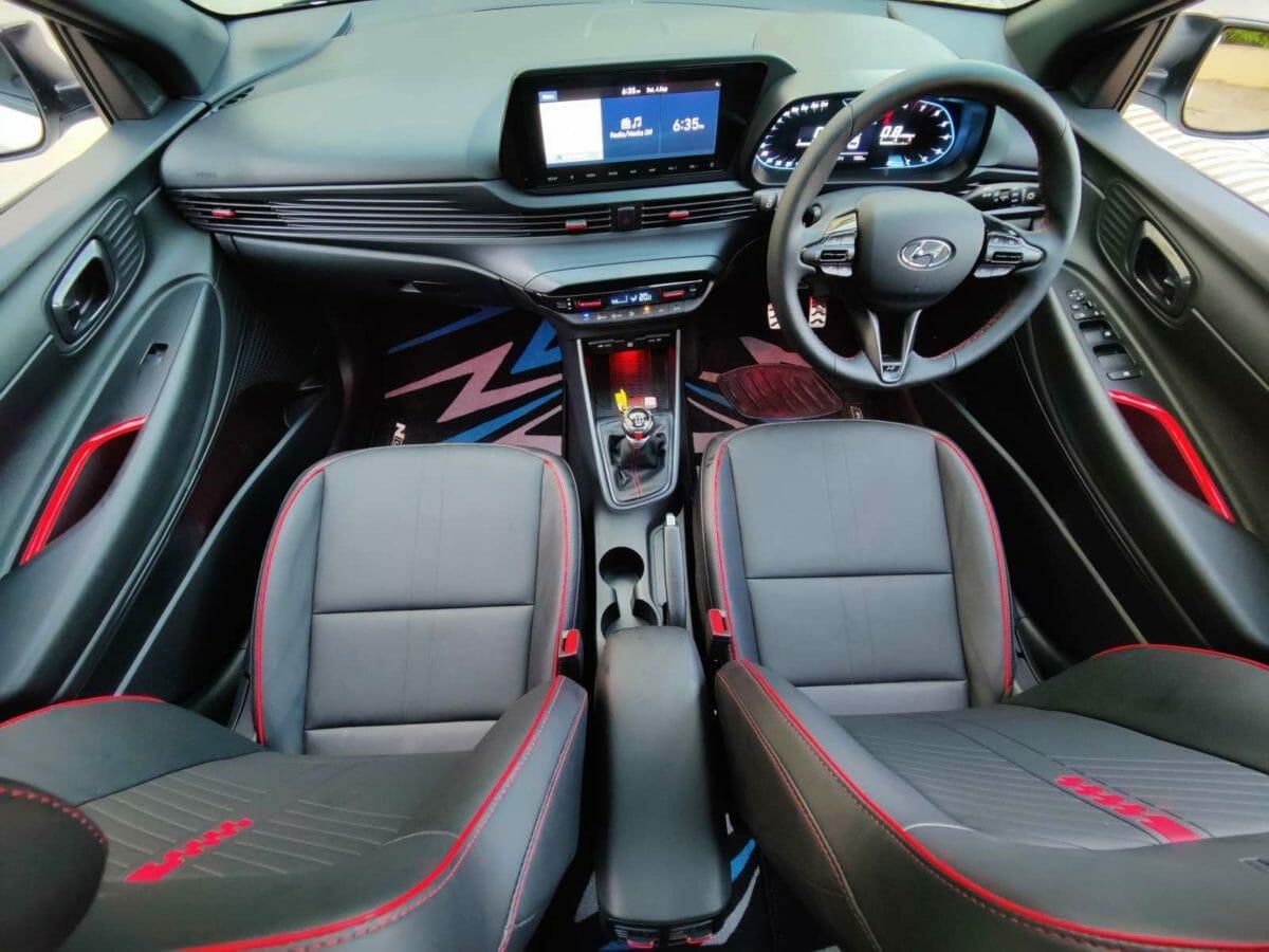 Hyundai i20 n line review interior