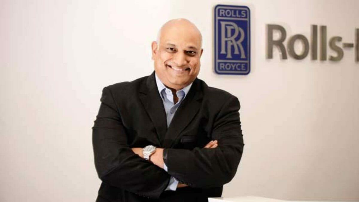 Kishore Jayaraman rolls royce india