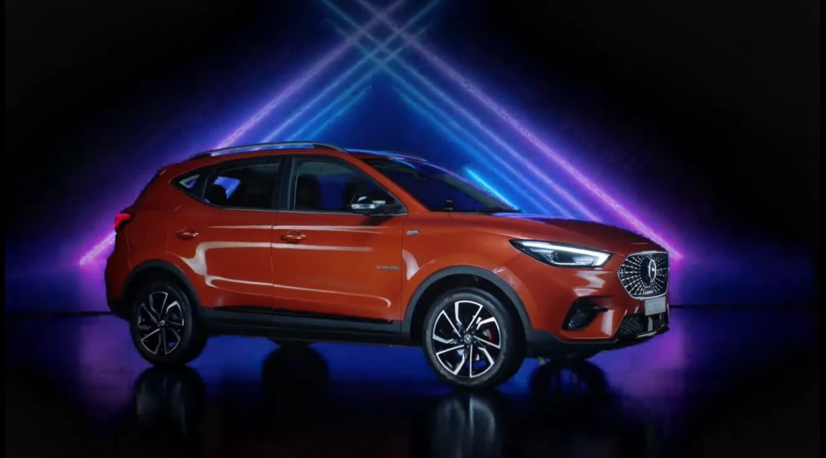 MG Astor unveiled front