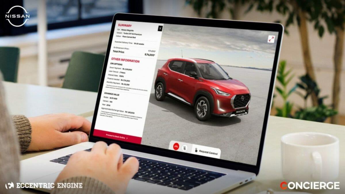 Nissan Virtual Sales Advisor