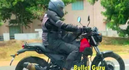 Upcoming Royal Enfield Scram 411 Caught Testing In A Spy Video