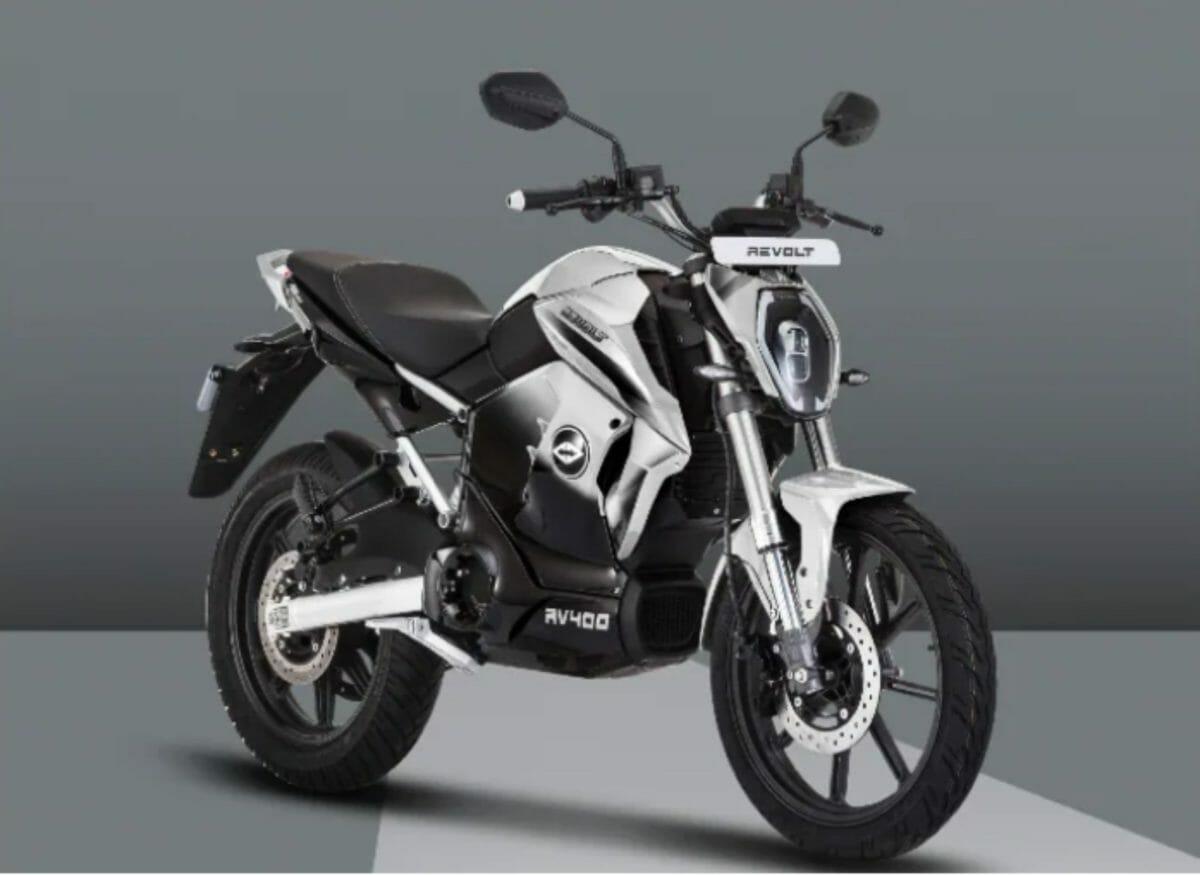 Revolt RV400 white colour