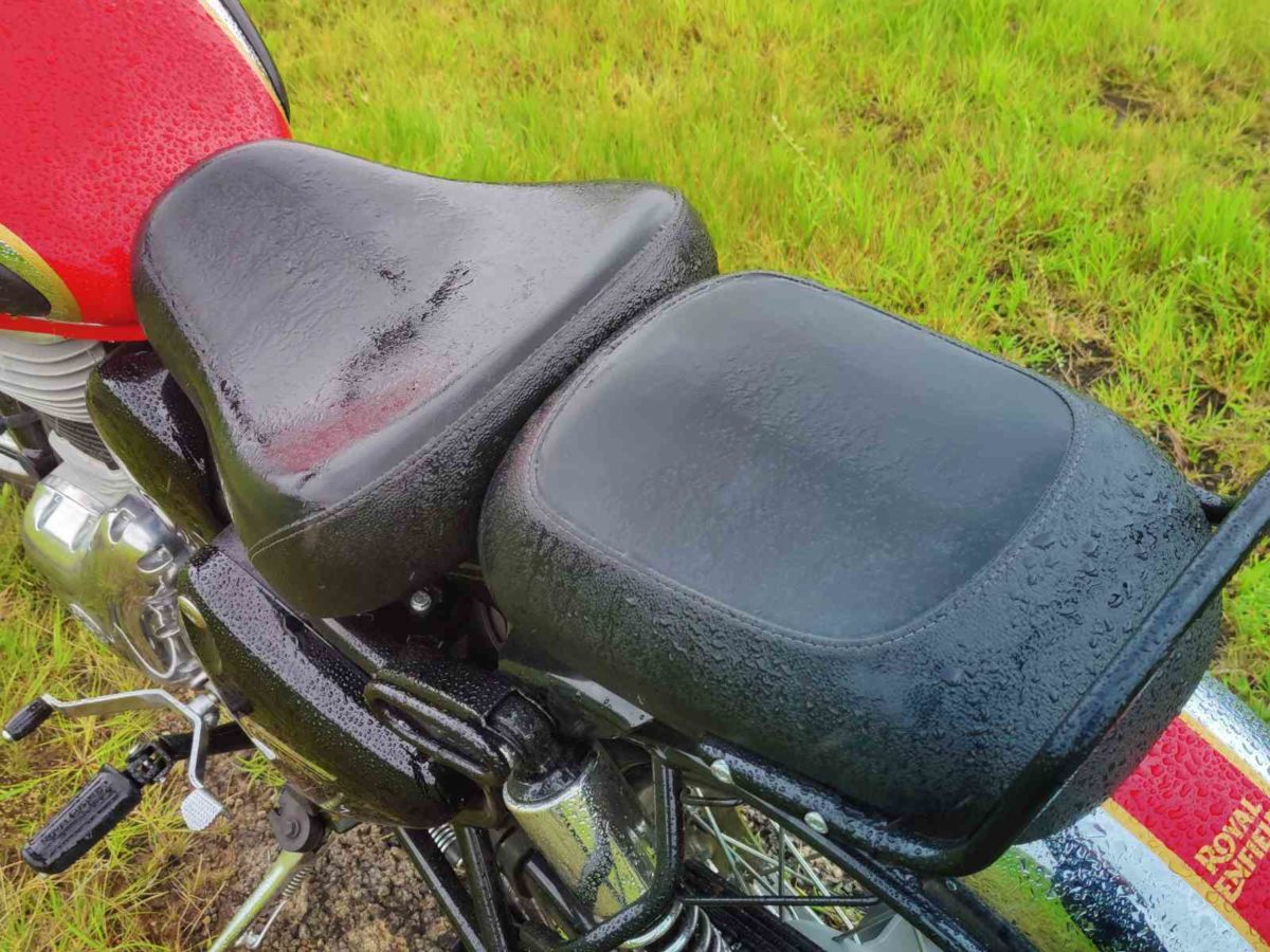 Royal Enfield Classic 350_seat