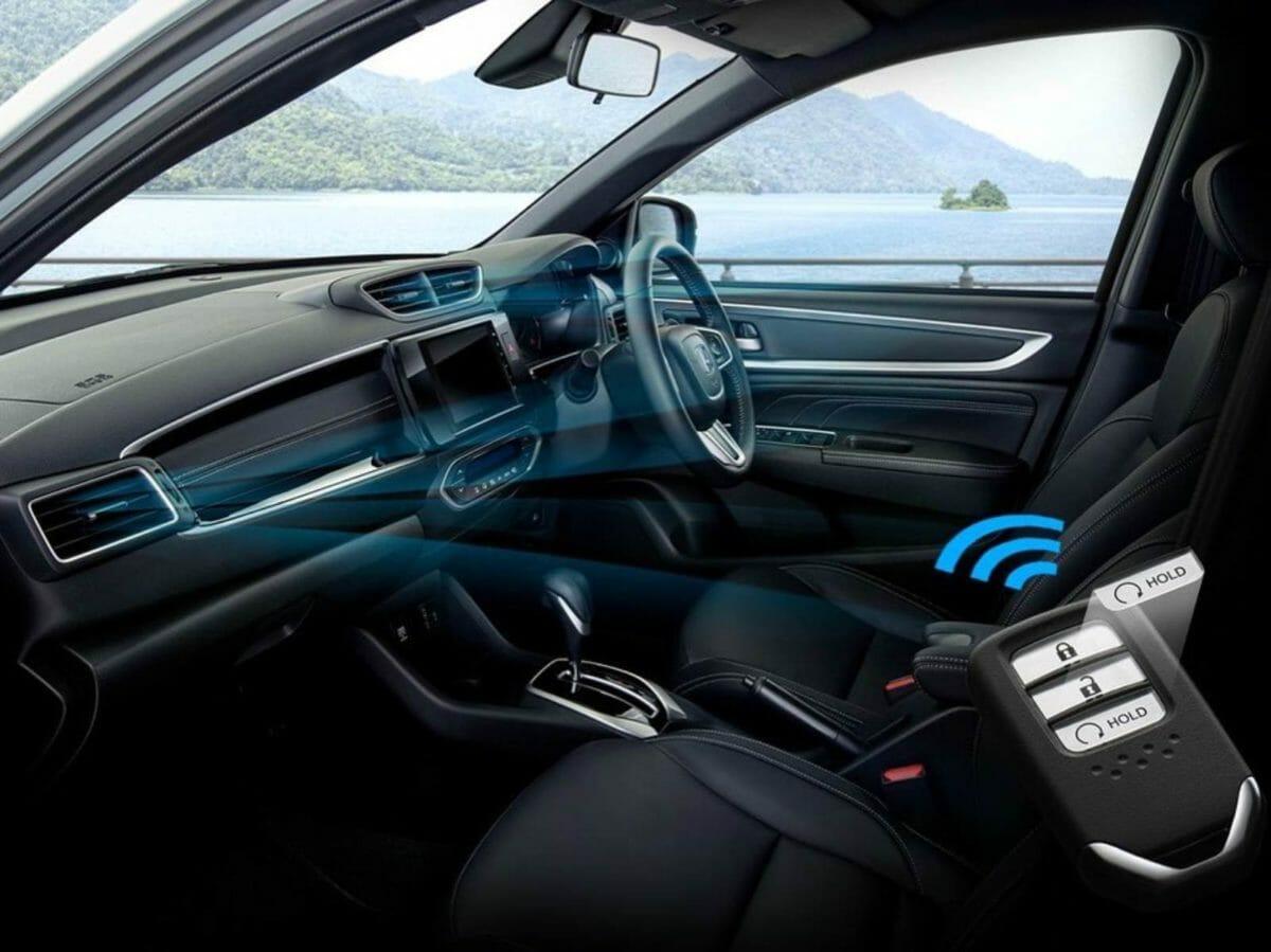 Second gen Honda BRV interiors