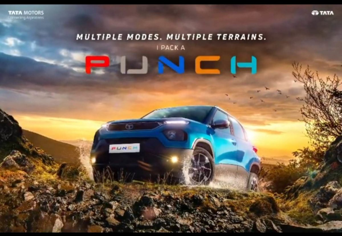 Tata Punch Multi drive modes teased